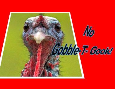 No Gobble - t- Gook