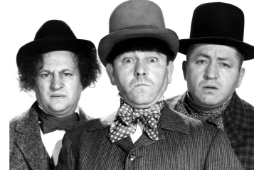 stooges in hats